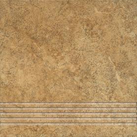 STOPNICA FREZOWANA NATURALNA ALPINO 03 BEŻ 330x330x7,5 Gat. I (10)