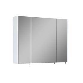 SZAFKA WISZĄCA Z LUSTREM NEW 80 3D WHITE (20/40/20) TECHNOBOX 904546T