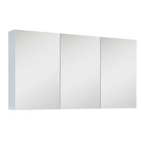 SZAFKA WISZĄCA Z LUSTREM 120 3D WHITE (40/40/40) 904512
