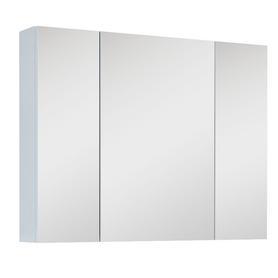 SZAFKA WISZĄCA Z LUSTREM 80 3D WHITE (20/40/20) 904509