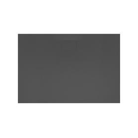 Brodzik LAVANO SLIM 140x80 Czarny  BREX.1103.140.080.BLN