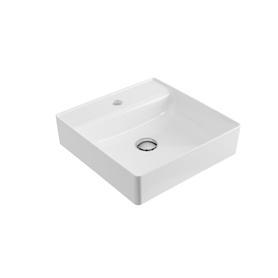 Rima 2.0 umywalka N/B 40x40 Biała  CEEX.4901.400.WH