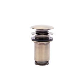 RONDO BRONZE Korek  Click-clack z przelewem, mosiężny stary brąz FD7-305-66