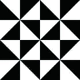 GRES SZKLIWIONY OXFORD BLACK 250X250 G1 (1M2)