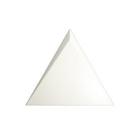 TRIANG. 15X17 CASCADE WHITE MATT 218245 (0,42)