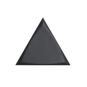 TRIANG. 15X17 CHANNEL BLACK MATT 218250(0,42)