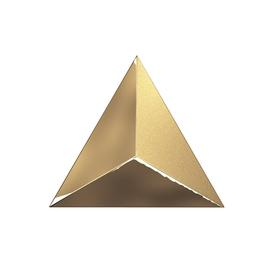 TRIANG. 15X17 LEVEL GOLD LASER GLOSSY 218362