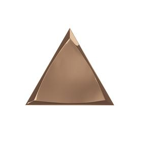 TRIANG. 15X17 CHANNEL COPPER GLOSSY 218370