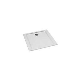 BRODZIK PACYFIK kwadratowy 80x80x5 biały - XBK0780000