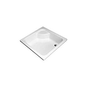 BRODZIK GŁĘBOKI kwadratowy 90x90x21 cm biały - XBK0390000