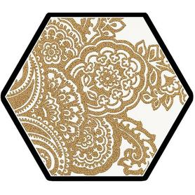 SHINY LINES GOLD HEKSAGON INSERTO B 19,8X17,1 G1
