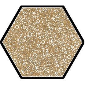 SHINY LINES GOLD HEKSAGON INSERTO F 19,8X17,1 G1 (12.000)