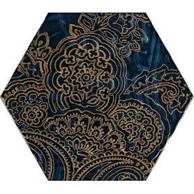 URBAN COLOURS BLUE INSERTO SZKLANE HEKSAGON B 19,8X17,1 G1 (9.000)