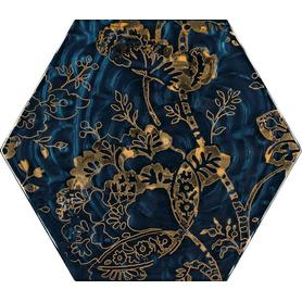 URBAN COLOURS BLUE INSERTO SZKLANE HEKSAGON C 19,8X17,1 G1 (9.000)