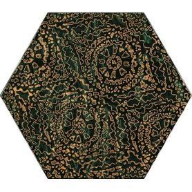 URBAN COLOURS GREEN INSERTO SZKLANE HEKSAGON A 19,8X17,1 G1 (9.000)