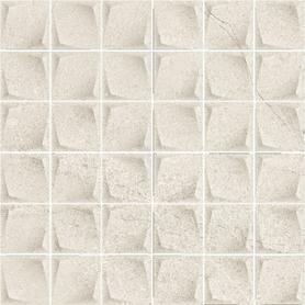 MINIMAL STONE GRYS MOZAIKA PRASOWANA K.4,8X4,8  29,8X29,8 G1