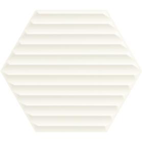 WOODSKIN BIANCO HEKSAGON STRUKTURA B SCIANA 19,8X17,1 G1 (0.660)