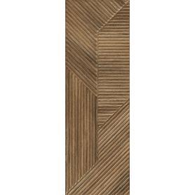 WOODSKIN BROWN SCIANA B STRUKTURA REKT. 29,8X89,8 G1 (1.070)