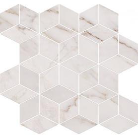 DEKOR CARRARA MOSAIC WHITE 28X29,7 OD001-022