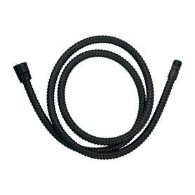 wąż kuchenno-wannowy, 150cm, czarny  062MBL