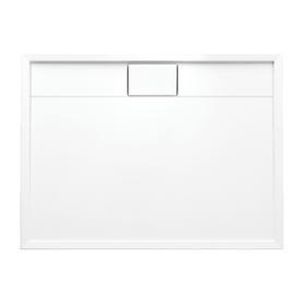 BROOKLYN brodzik prysznicowy akrylowy, prostokątny, 80x100cm, biały połysk     BROOKLYN80/100/PBP