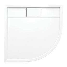 BROOKLYN brodzik prysznicowy akrylowy, półokrągły, 90x90cm, biały połysk     BROOKLYN90/OBP