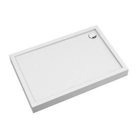 CAMDEN brodzik prysznicowy akrylowy, prostokątny, 80x100cm, biały połysk     CAMDEN80/100/PBP