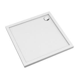 MERTON brodzik prysznicowy akrylowy, kwadratowy, 80x80cm, biały połysk     MERTON80/KBP