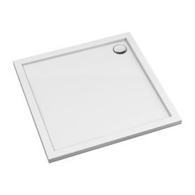 MERTON brodzik prysznicowy akrylowy, kwadratowy, 90x90cm, biały połysk     MERTON90/KBP