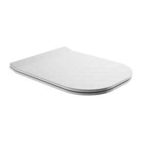 DENVER deska wolnoopadająca z duroplastu, do miski DENVER, biały połysk   DENVERDEBP