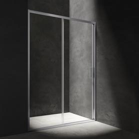 MANHATTAN drzwi prysznicowe przesuwne, 120cm, chrom/transparentny      NDP12XCRTR