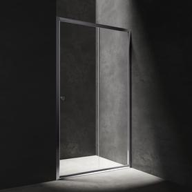 S drzwi prysznicowe przesuwne, 110cm, chrom/transparentny      S2050110CRTR