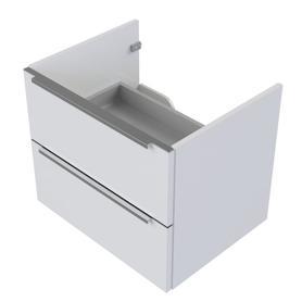 OMNIDREAM szafka dolna, podwieszana, 70x42x50cm, biały połysk     OMNIDREAMSD-70BP