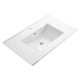 ORLANDO umywalka meblowa, 76x47cm, biały połysk       ORLANDO760BP