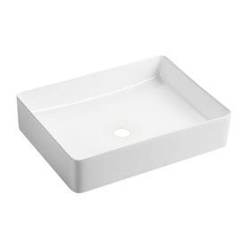 PASADENA umywalka nablatowa, 47x36cm, biały połysk       PASADENA470BP