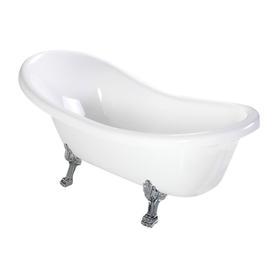 ATENA wanna Marble+, 157x76,5x55,5cm, biały połysk       ATENA157BP