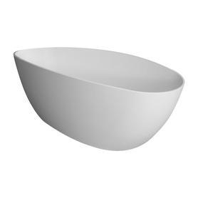 BARCELONA wanna Marble+, 156x71x56cm, biały połysk       BARCELONA156BP