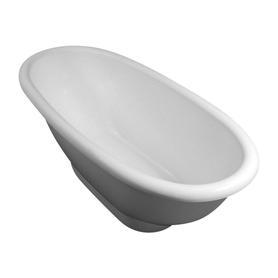 MADRID wanna Marble+, 181x80x63,3cm, biały połysk       MADRID181BP