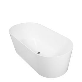 MONACO wanna Marble+, 181x85x60cm, biały mat      MONACO181BM