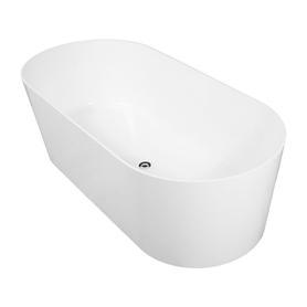 MONACO wanna Marble+, 181x85x60cm, biały połysk       MONACO181BP
