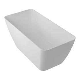 PARMA wanna Marble+, 159x70,5x62cm, biały połysk       PARMAWWBP