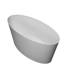 ROMA wanna Marble+, 159x72x65cm, biały mat      ROMA159BM