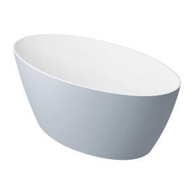 SIENA wanna Marble+, 160,5x80,5x60cm, biały/szary połysk       SIENAWWBSP