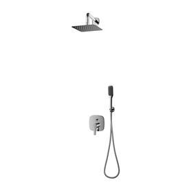 HUDSON system prysznicowy podtynkowy, chrom       SYSHS24XCR