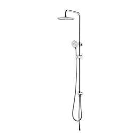 NEVADA system prysznicowy natynkowy, chrom       SYSNEVADACR