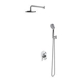 Y system prysznicowy podtynkowy, chrom       SYSY21CR