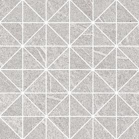 GREY BLANKET TRIANGLE MOSAIC MICRO 29X29
