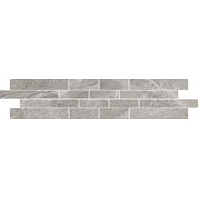 MOZAIKA NOIR light grey mosaic 12x60  MD987-004