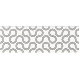 ŚCIANA SPIN WHITE-BLACK GEO 25X75 G1 (1.12) OP431-002-1 (do wyczerpania zapasów)