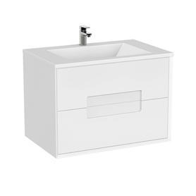 MODENA -Szafka podumywalkowa 72 cm,dwie szuflady, kolor: biały mat,